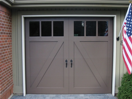 Choose the opening style that meets your garage door requirements:   Roll-up in sections, Swing-out, In Swing, Slide, or Fold for your carriage house garage doors.