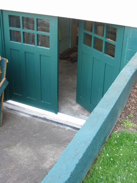 REAL Carriage Doors for your  carriage house built and installed  to open as In-Swing Carriage  Doors.  Other opening styles for  these Hinged Carriage Doors  include:  Swing-out, Slide, or  Fold.  The choice is yours for a  carriage house door!