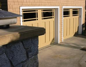 Medina Waterfront Hand-made Custom Traditional Garage Doors